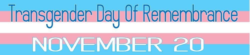 TDOR banner